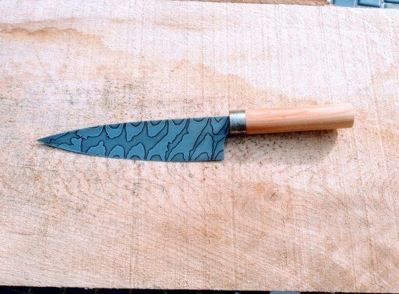 damascus steel chefs knife